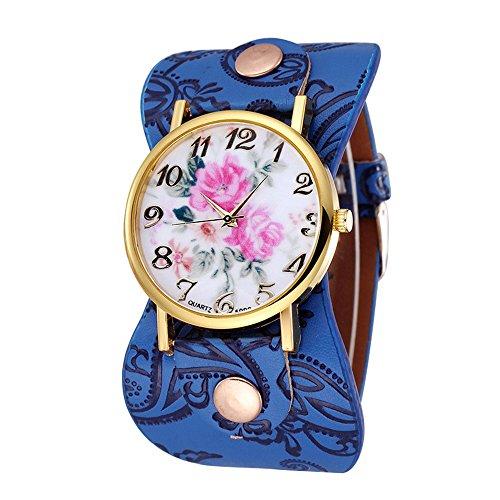 unique-womens-arabic-numerals-peony-floral-dial-faux-leather-wide-bracelet-wrist-watch-sapphire-blue