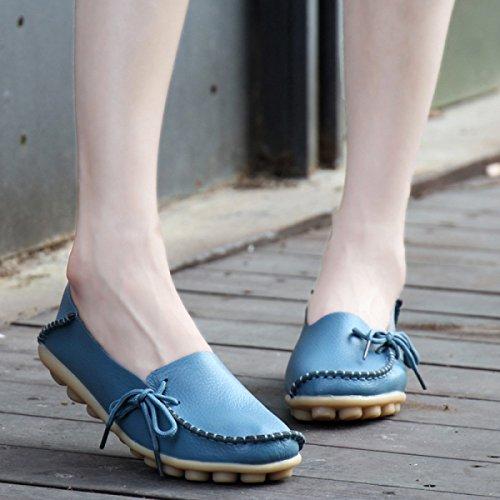 Chaussures Grandes Dentelle Taille Pour Aider à Bas Pois M
