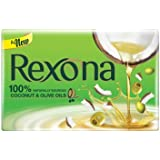 Rexona Coconut and Olive Oil Soap, 100g (Pack of 4)