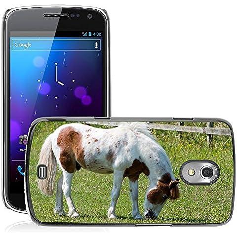 Just Cover Hot Style-Custodia rigida per cellulare, %2F %2F M00140281 Horse Pony pascolo Pretty Equine %2F %2F gt_i9250 Samsung Galaxy Nexus i9250