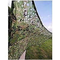 Qjifangzyp Red De Camuflaje Verde, 4x5m Parasol Protector Solar Protector Solar Camuflaje Protector Solar Protección Neta Protección De La Protección del Jardín Neta Jardín Fotografía De Caza 2m3m6m