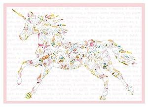 Louise Tate Illustration 745577367209 - Sierra de calar (20 Piezas), diseño de Unicornio