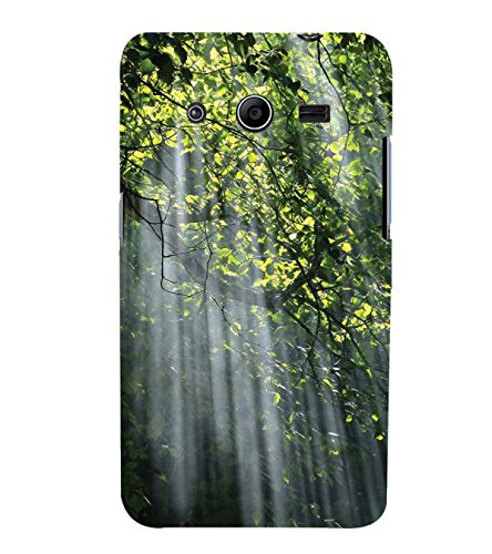YuBingo Samsung Galaxy Core 2 G355H :: Samsung Galaxy Core Ii :: Samsung Galaxy Core 2 Dual Designer Phone Back Case Cover ( Sun Rays falling on Tree Branch )  available at amazon for Rs.521
