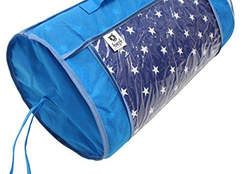 Best For Kids Babymatratze 60x120 cm Rollmatratze mit Reisetasche und TÜV, Tasche, Bezug 100% Baumwolle