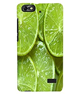 Fuson 3D Printed Lemon Slices Designer Back Case Cover for Huawei Honor 4C - D1092