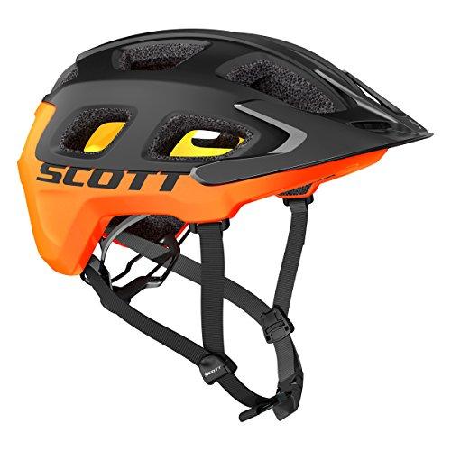 Scott Vivo Plus MTB Fahrrad Helm schwarz/orange 2018: Größe: M (55-59cm)