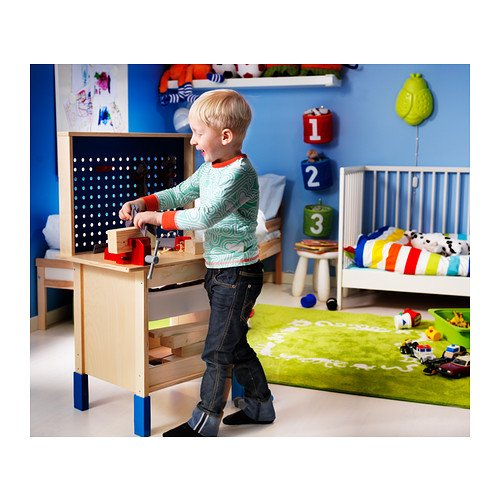 IKEA DUKTIG–Caja de herramientas