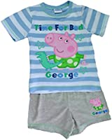 Boys Peppa Pig George Pig Time for Bed Pyjamas 1 to 5 Years