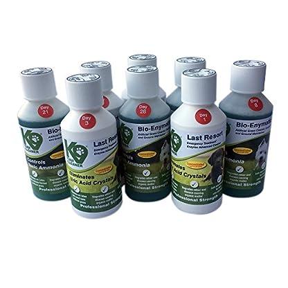 K9 Turf® Artificial Grass Cleaner, Last Resort 28 Day Treatment Kit 8 x 250ml. Treats 20m2. Eliminates Uric Acid… 1