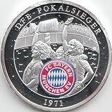 Medaille FC Bayern München Polierte Platte Deutscher Pokalsieger 1971 (Münzen für Sammler)