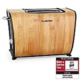 Klarstein Bamboo Garden Grille-Pain (870W, deux...