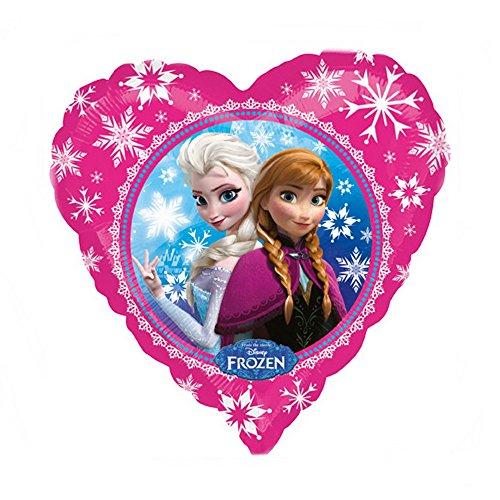 GUIZMAX Globos Disney Frozen Helio Ana Elsa Corazón