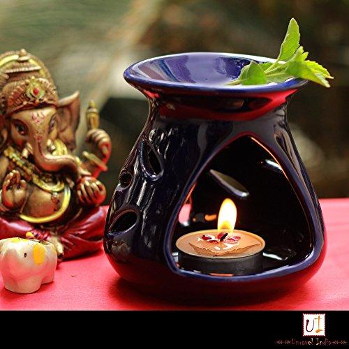 Unravel India in ceramica nera aroma