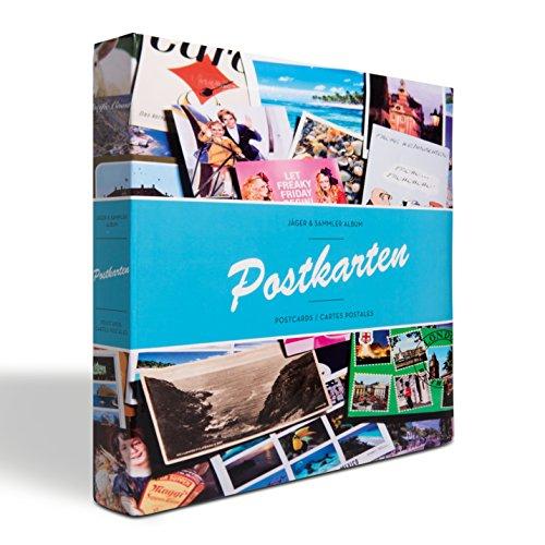 Leuchtturm 345621 Sammel-Album POSTKARTEN für 600 Postkarten, mit 50 festeingebundenen Hüllen