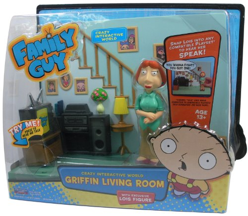Family Guy - Playset (Gear 4 Games)