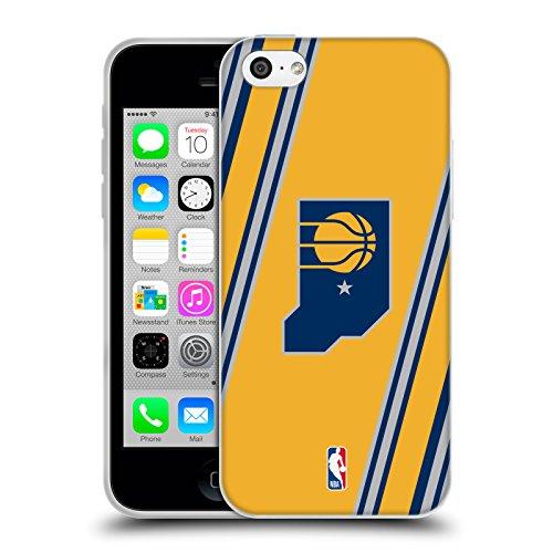 Officiel NBA B&W Marbre Indiana Pacers Étui Coque en Gel molle pour Apple iPhone 5 / 5s / SE Rayures