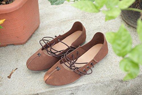soft bottom le scarpe per scarpe da ballo a mano scarpe di cuoio 40