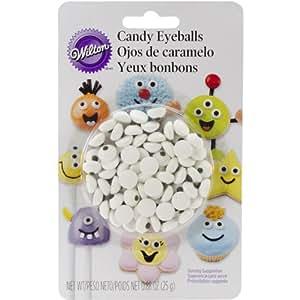 Wilton Candy Eyeball 25 Gram / Pack of 50