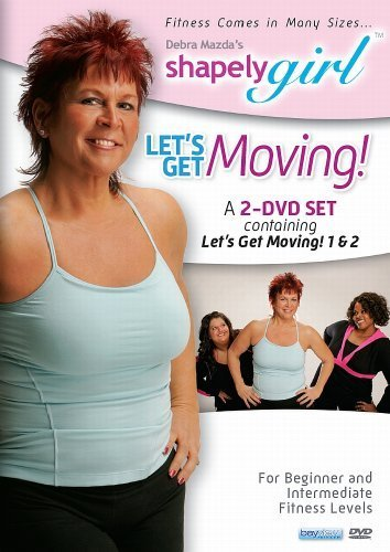 shapelygirl-lets-get-moving-2-dvd-set-by-debra-mazda