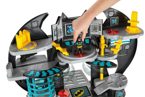 Image of Imaginext DC Super Friends, Batman Batcave Playset