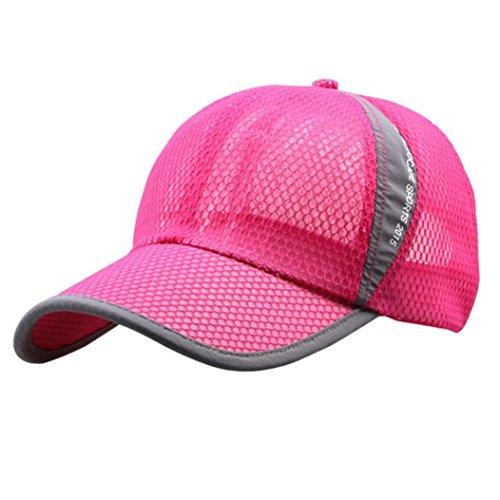 Tonsee Hommes et femmes vacances plein air parasol Sun Hat séchage rapide Ventilation Baseball Se leva
