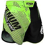 Venum Training Camp 2.0 Short d'entrainement Homme, Noir/Jaune Fluo, FR (Taille Fabricant : XL)
