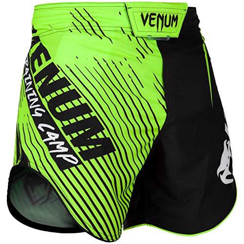wholesale dealer 72f7a 17567 Venum Training Camp 2.0, Pantaloncini di Allenamento Uomo, Nero Neon  Giallo, S