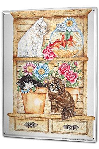 cartel-letrero-de-chapa-xxl-retro-gatos-plataforma-goldfish