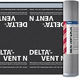 Dörken Delta Vent N Plus Unterspannbahn 50 x 1,5 m diffusionsoffen und selbstklebend für Steil-Dach