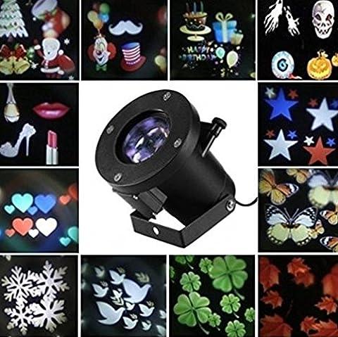 FomCcu Changeable Halloween Christmas Decoration Light Projector Lighting Outdoor