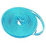 Antirutsch-Seil für Kleiderbügel, 5 m, mit Hacken