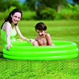 Bestway 51025B - Planschbecken Splash and Play 3-Ring- Pool, circa 122 x 25 cm (farblich sortiert ) -