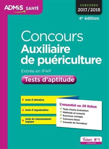 Concours Auxiliaire de puriculture - Tests d'aptitude - L'essentiel en 29 fiches - Concours 2017-2018