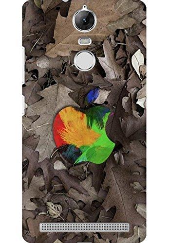 AMEZ designer printed 3d premium high quality back case cover for Lenovo K5 Note (leaves apple logo)