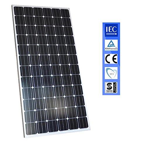 Panel solar 330W Fotovoltaico Monocrystalino para 24v