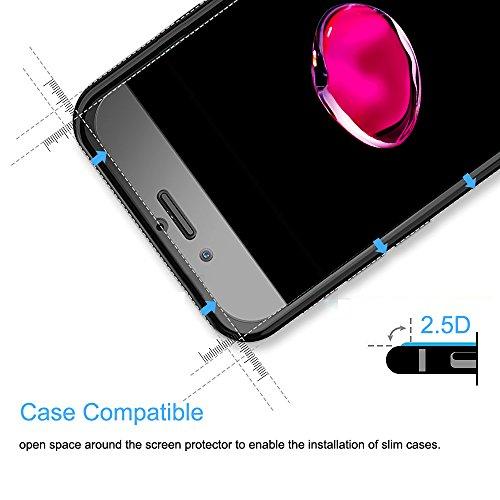 iVoler - Transparente Cristal Vidrio Templado Premium 4 Unidades Dureza 9H Anti-Ara/ñazos Protector de Pantalla para iPhone 6S Plus//iPhone 6 Plus Sin Burbujas