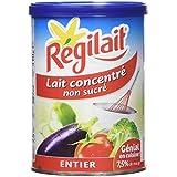Régilait Lait Concentré Non Sucré Boîte Entier 3 x 410 g - Lot de 2