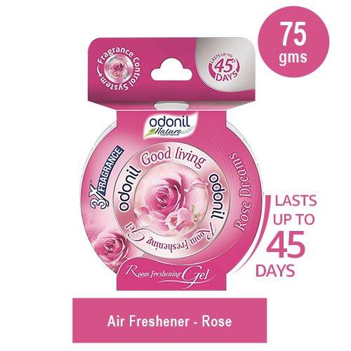 Odonil Room Freshening Gel - 75 g (Rose) Odonil Room Freshening Gel – 75 g (Rose) 51yVM 9hB0L