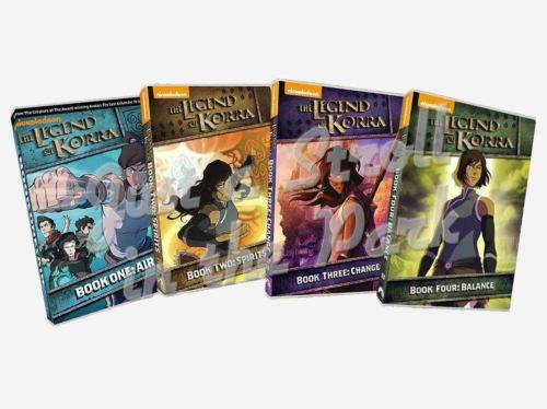 Preisvergleich Produktbild Avatar The Legend of Korra Complete Series Books 1 2 3 4 DVD Season Box Sets NEW