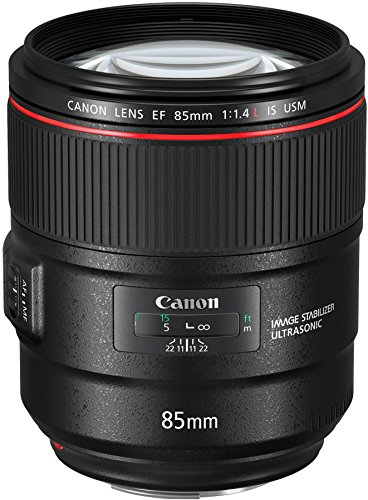 Canon Italia EF 85mm Obiettivo, Nero