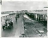 Fotomax Vintage Photo of HAYLING Island Bridge CONCRET Bridge.