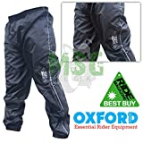 RM2006XL - Oxford Rain Seal All Weather Over Trousers Black 6XL