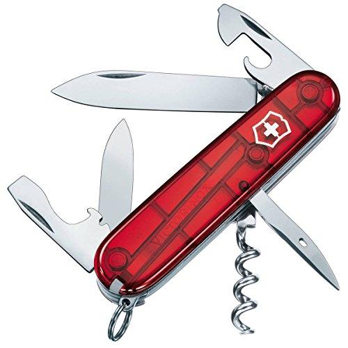 Victorinox Couteau Suisse Spartan Transparent red