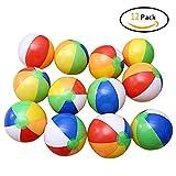 """Twister.CK Beach Balls von 12 Pack, 8 """"Aufblasbarer Regenbogen-Swimmingpool-Wasserbälle, Strand-Thema für Partei-Bevorzugungen, die Kinderkinderstrand-Spielwaren Spielen"""