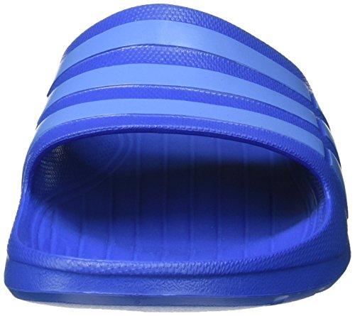 adidas Duramo Slide Unisex-Erwachsene Dusch & Badeschuhe Blau (Bright Royal/Lucky Blue S15/Bright Royal)