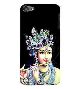 Lord Krishna 3D Hard Polycarbonate Designer Back Case Cover for Apple iPod Touch 5