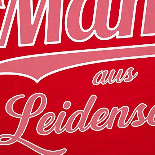 style3 Mama aus Leidenschaft Damen T-Shirt Spruch Shirt Mutter Mami Muttertag Rot