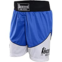 Boxeur des rues - Pantalón Corto de Boxeo Fight Activewear, Hombre, Fight Activewear, Turquesa, XL