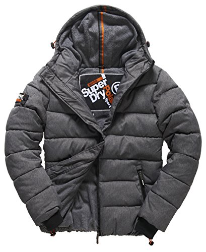 SUPERDRY Polar Sports Puffer, Giacca Uomo, Black Marlazb, S
