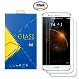 [2 Pack] Film Verre Trempé Huawei G8 / GX8 / G7 Plus / D199 - Protection contre chocs et rayures